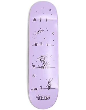 Theories How They Got Here Skateboard Deck - 7.875