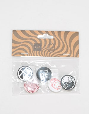 HUF x Spitfire Button Pack - Assorted