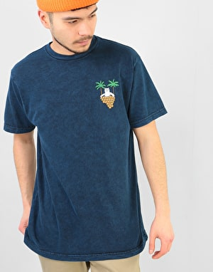 RIPNDIP Boobcuzzi T-Shirt -  Royal Mineral Wash