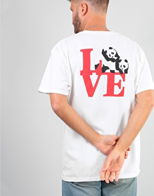 Enjoi R1 Exclusive Love T-Shirt - White