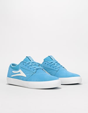 Lakai Griffin Skate Shoes - Light Blue Suede