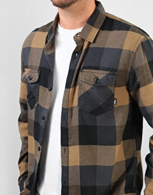 Vans Box Flannel L/S Shirt - Dirt-Black