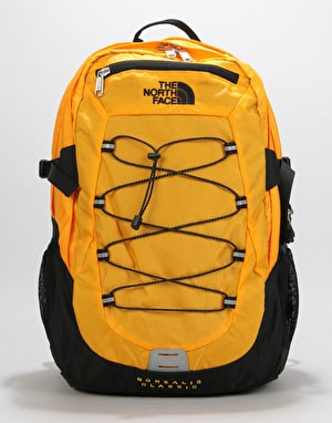 The North Face Borelais Classic Backpack - TNF Yellow/TNF Black