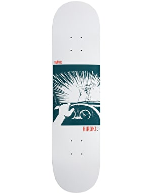 Traffic Hiroki Watch Skateboard Deck - 8