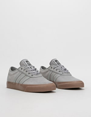 Adidas Adi-Ease Skate Shoes - Solid Grey/Solid Grey/Gum
