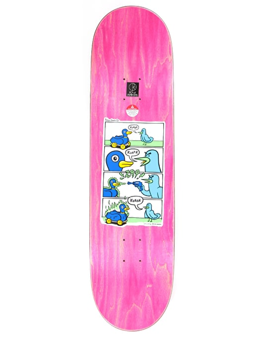 Polar Dane Kvaak Zap Kvaak Skateboard Deck - P5 Shape 8.625""