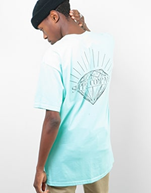 Diamond Split T-Shirt - Diamond Blue