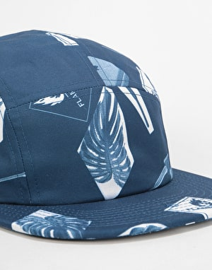 Carhartt Flammable 5 Panel Cap - Blue/White