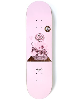 Magenta Fox Perceptions Skateboard Deck - 8.5