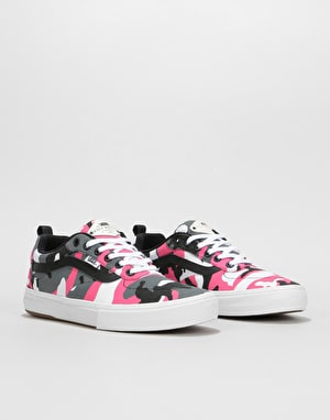 Vans Kyle Walker Pro Skate Shoes - (Camouflage) Black/Magenta