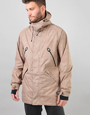 Bonfire Static 2018 Snowboard Jacket - Taupe