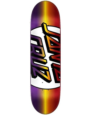 Santa Cruz Missing Dot 'Taper Tip' Team Deck - 8