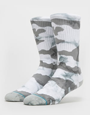 Stance Classic Crew Bleach Socks - Grey