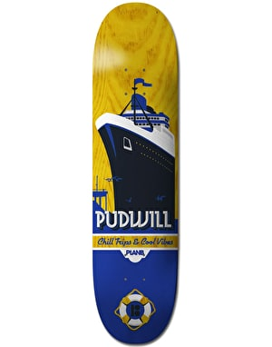 Plan B Pudwill Open Seas Pro.Spec Skateboard Deck - 7.625