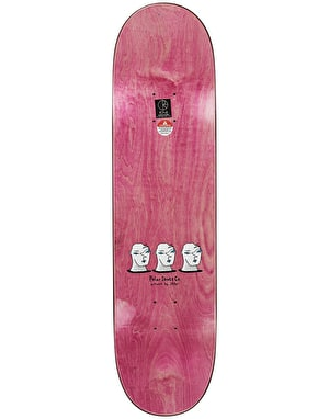 Polar Halberg Big Head Skateboard Deck - 8.25