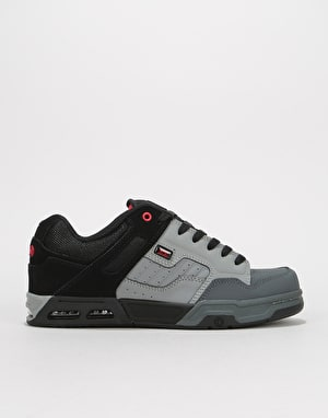 DVS Enduro Heir Skate Shoes - Charcoal Grey/Black Nubuck