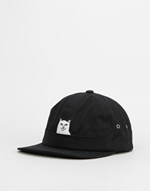 RIPNDIP Lord Nermal Pocket 6 Panel Cap - Black