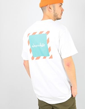 Chocolate Chico'B T-Shirt - White