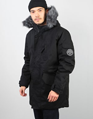 Bellfield Tethra Parka Jacket - Black