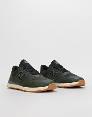 New Balance Numeric 420 Skate Shoes - Forest/Gum