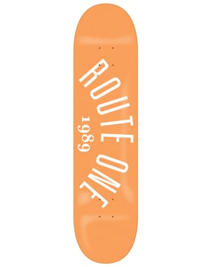 Route One Arch Logo Skateboard Deck - 8.125