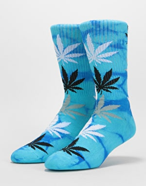 HUF Strain Plantlife Crew Socks - Blue Haze