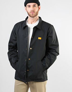 Enjoi Box Logo Coaches Jacket - Black