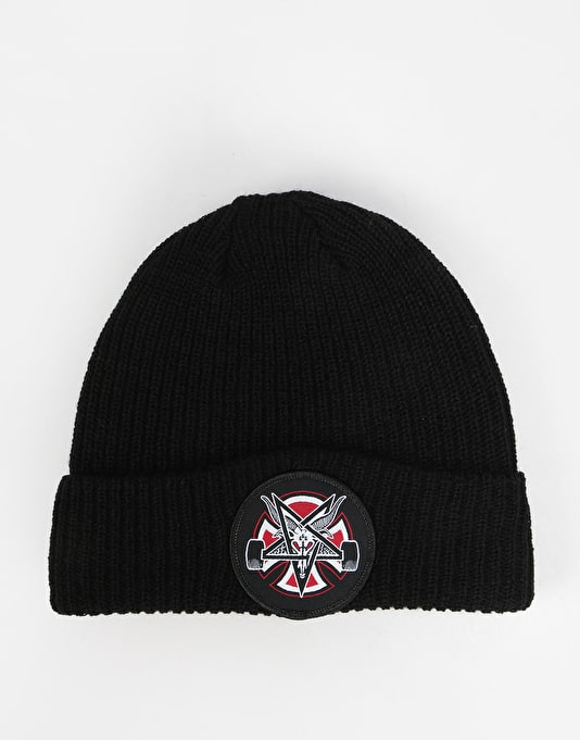 Independent x Thrasher Pentagram Cross Beanie - Black  f4fed8050164