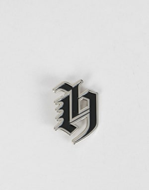 The Hundreds Old H Pin - Silver