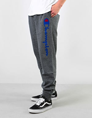 Champion Logo Rib Cuff Sweatpants - GRLTM