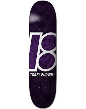 Plan B Pudwill Stained Pro.Spec Skateboard Deck - 8.25