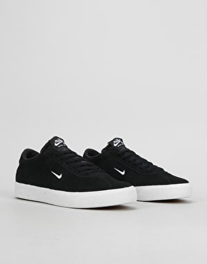 Nike SB Zoom Bruin Ultra Skate Shoes - Black/White-Gum Light Brown
