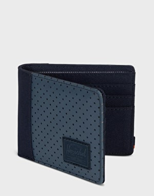 Herschel Supply Co. Edward RFID Wallet - Peacoat/Navy/Vermillion