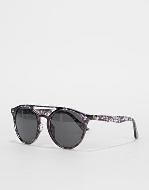 Route One Oval Top Bar Sunglasses - Black Tortoise