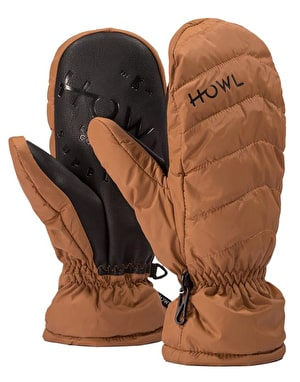 Howl Daily 2019 Snowboard Mitts - Brown