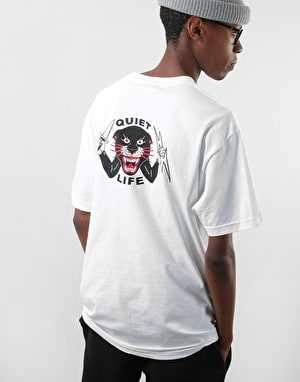 The Quiet Life x Ben Venom Panther T-Shirt - White