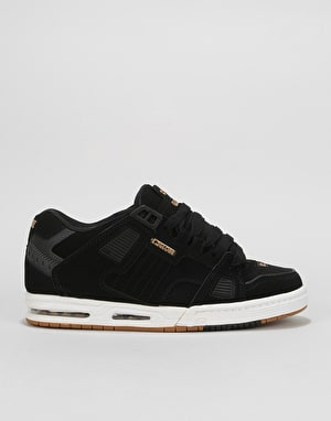 Globe Sabre Skate Shoes - Black/Gold