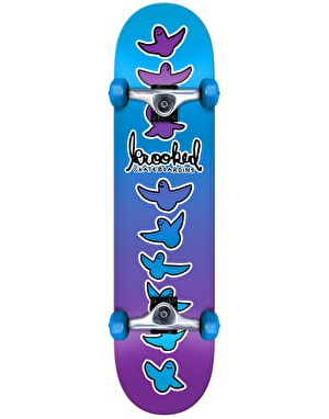 Krooked Birdical Fades Complete Skateboard - 8.25