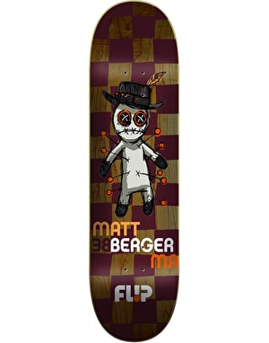 Flip Berger ZC2 Skateboard Deck - 8.04