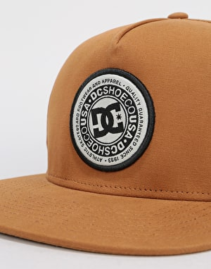 DC Cresty Snapback Cap - DC Wheat
