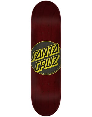 Santa Cruz Classic Dot Taper Tip Skateboard Deck - 8.25