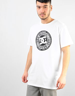 DC Circle Star T-Shirt - Snow White