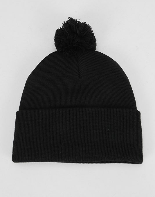 Element Dusk Pom II Beanie - Flint Black