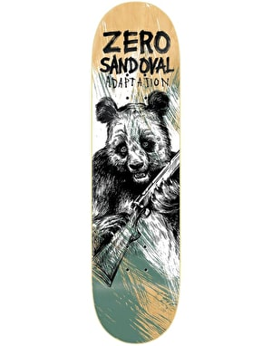 Zero Sandoval Adaptation Skateboard Deck - 8.375