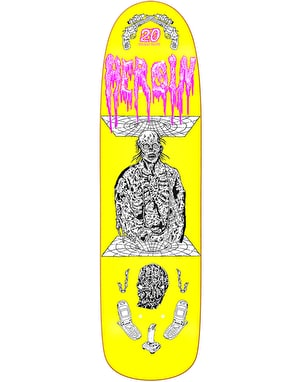 Heroin French 20 Years Skateboard Deck - 8.88