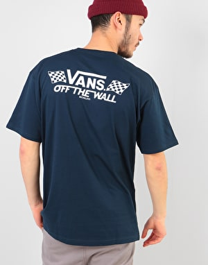 Vans Crossed Sticks T-Shirt - Navy