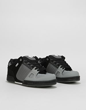 DVS Celsius (Brian Deegan) Skate Shoes - Grey/Charcoal/Black Nubuck