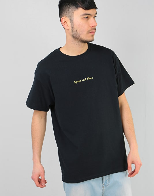 Route One Space & Time T-Shirt  - Black