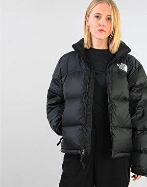 The North Face Womens 1996 Retro Nuptse Oversized Jacket - TNF Black