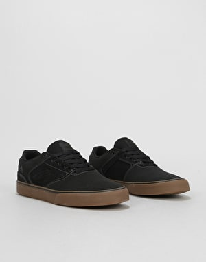 Emerica The Reynolds Low Vulc Skate Shoes - Dark Grey/Black/Gum